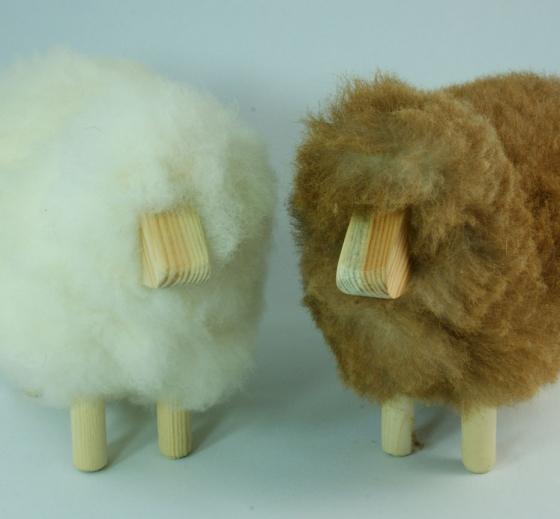 mouton d co hauteur 15cm en peau naturelle chez sable et. Black Bedroom Furniture Sets. Home Design Ideas