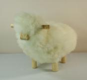 Mouton Déco - H 30cm -  écru